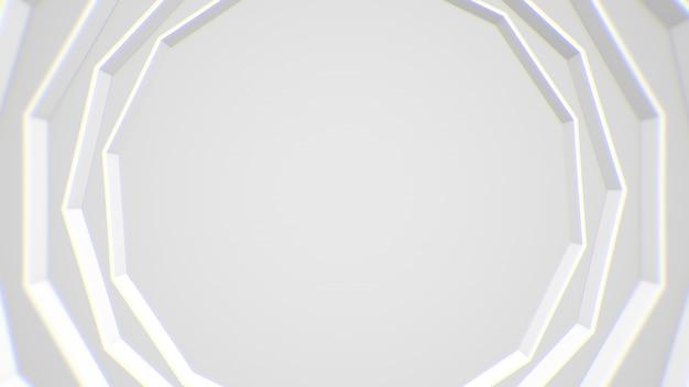 Fond abstrait cadre moderne blanc Photo Premium