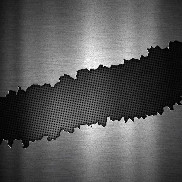 Fond abstrait avec un design métallique fissuré Photo gratuit
