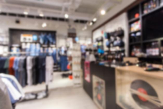 Fond abstrait flou de vêtements en coton multicolores Photo Premium