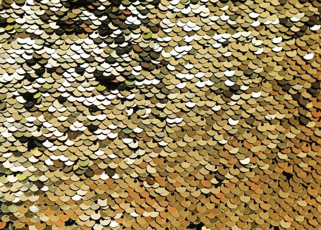 Fond abstrait de paillettes d'or. Photo Premium