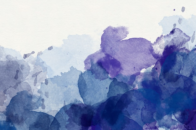 Fond aquarelle abstraite pourpre Photo Premium