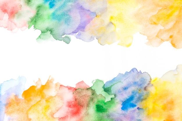 Fond aquarelle coloré créatif grunge coloré Photo gratuit