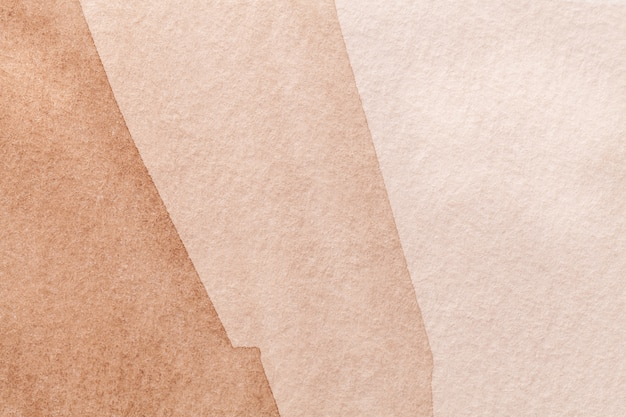 Fond d'art abstrait brun et bronze Photo Premium