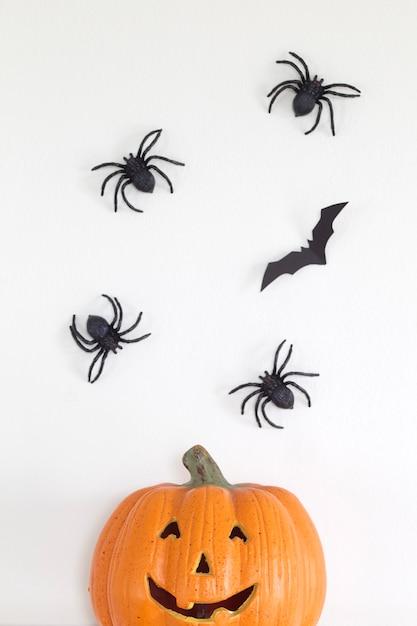 Fond de bannière joyeux halloween Photo Premium