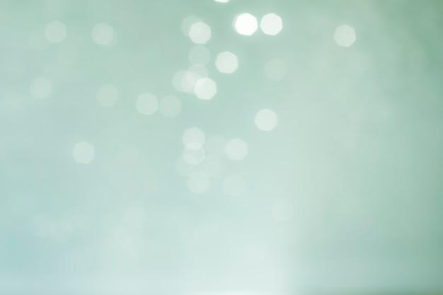 Fond Bleu Abstrait De Lumières Bleues. Photo Naturelle Bokeh Photo gratuit