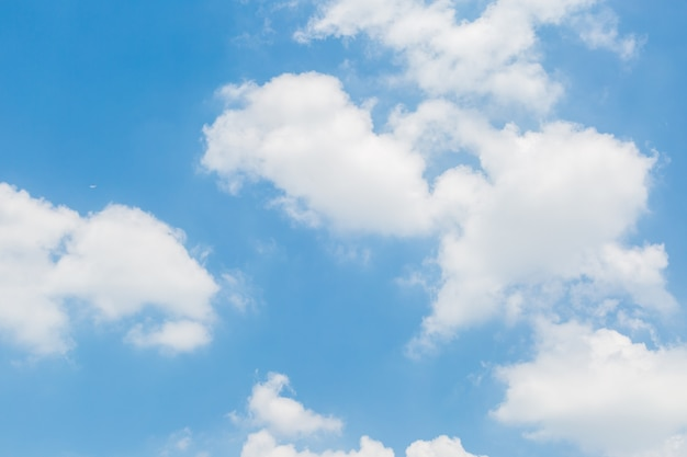 Fond Bleu Ciel Et Nuages Télécharger Des Photos Premium