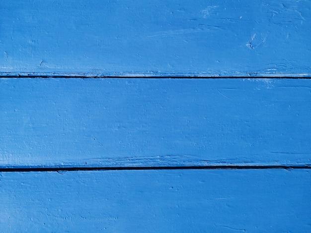 Fond en bois bleu Photo gratuit
