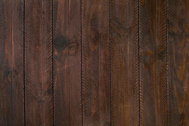 Fond en bois rustique foncé Photo Premium