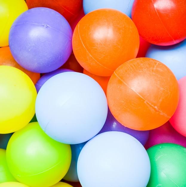 Fond de boules colorées Photo Premium