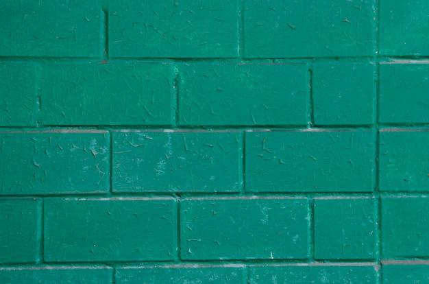 Fond De Briques Vertes Photo Premium