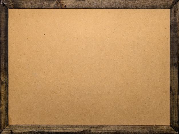 Fond de cadre en bois. modèle de planche de bois pour votre conception. Photo Premium