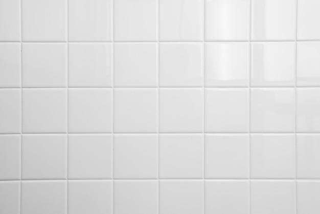 Fond de carreaux blanc Photo Premium