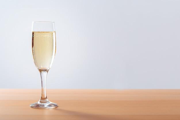 Fond De Célébration Du Nouvel An Avec Champagne Photo Premium