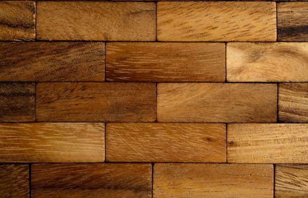 Le fond de chaque morceau de bois est disposé en rangées. Photo gratuit