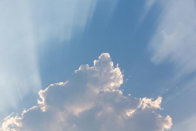 Fond de ciel du soir. Photo gratuit