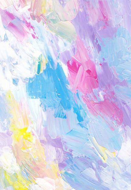 Fond Coloré Pastel Texturé Photo Premium