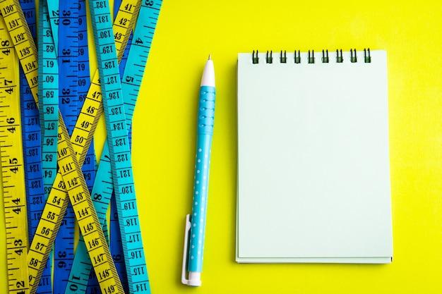 Fond de contrôle contrôle concept background.healthy fitness. Photo Premium