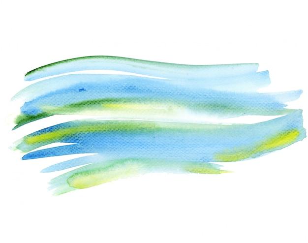 Fond de couleur aquarelle dessinés à la main Photo Premium