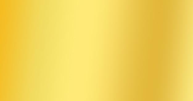 Fond De Couleur Dégradé D'or Pour La Toile De Fond Abstrait Créatif Photo Premium