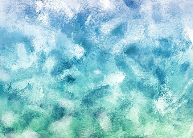 Fond De Coups De Pinceau Bleu Et Turquoise Photo gratuit