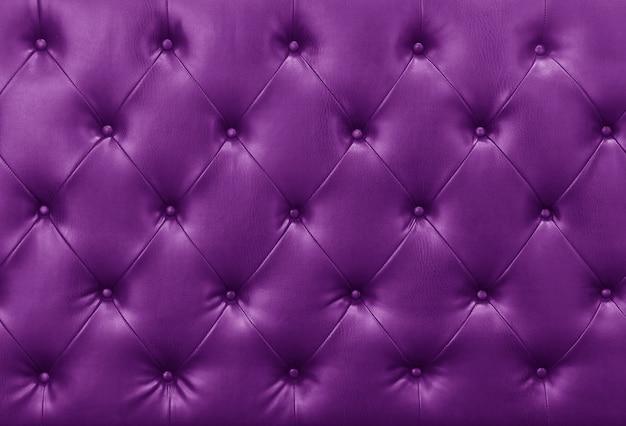 Fond cuir violet canapé Photo Premium