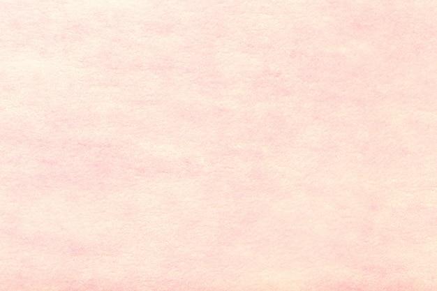 Fond En Daim Mat Rose Pâle. Texture Velours De Feutre. Photo Premium