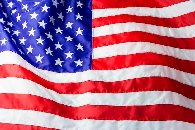 Fond de drapeau américain Photo Premium