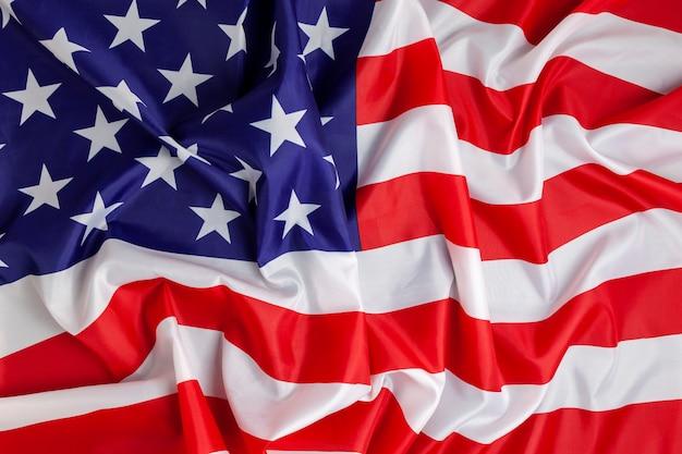 Fond de drapeau de l'amérique Photo Premium
