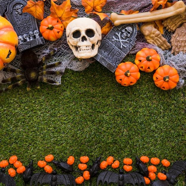 Fond D Ecran Halloween Decoratif Photo Gratuite