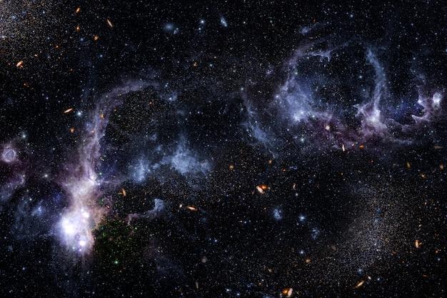 Fond De L'espace Extra-atmosphérique Photo gratuit