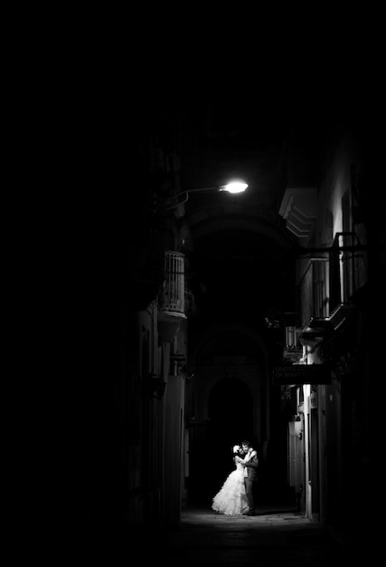 Fond extérieur mariage vie robe Photo Premium