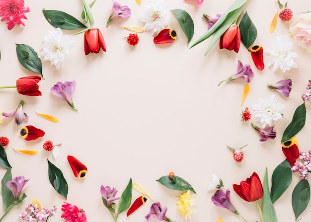 Fond de fleurs Photo gratuit