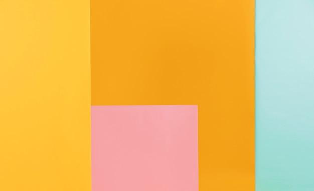 Fond De Formes Géométriques Colorées Photo Premium