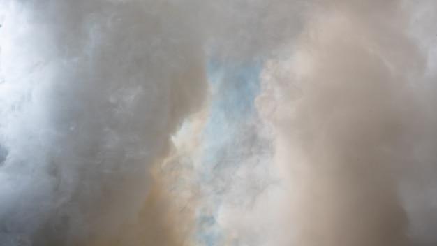 Fond De Fumée Blanche, Brouillard Ou Fond De Fumée, Abstrait De Smog Photo Premium