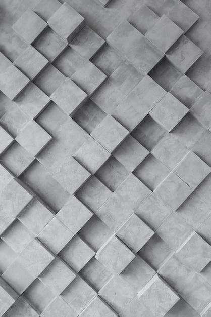Fond géométrique sombre avec des carrés Photo gratuit