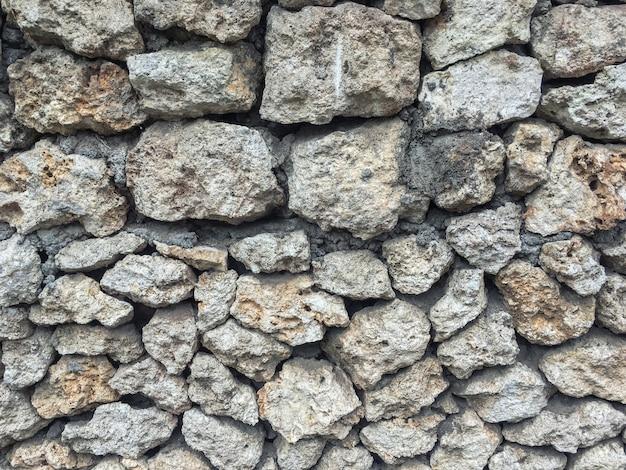 Fond gris de gros pavés, toile de fond la nature Photo Premium