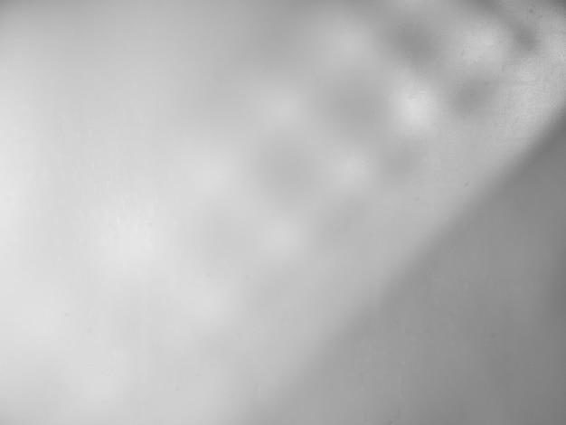 Fond Gris Avec Lumière Et Ombre De La Fenêtre Photo Premium