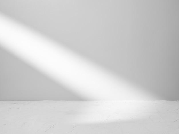 Fond Gris Pour La Présentation Du Produit Avec Faisceau De Lumière Photo Premium