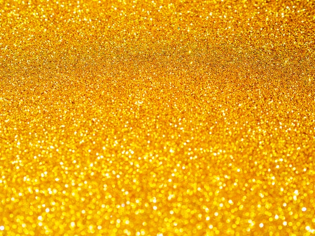 Fond gros plan de paillettes d'or Photo gratuit