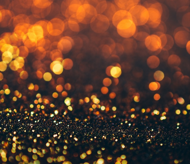 Fond de grunge de lumières scintillantes, scintillant défocalisé abstraite lumières scintillantes Photo Premium