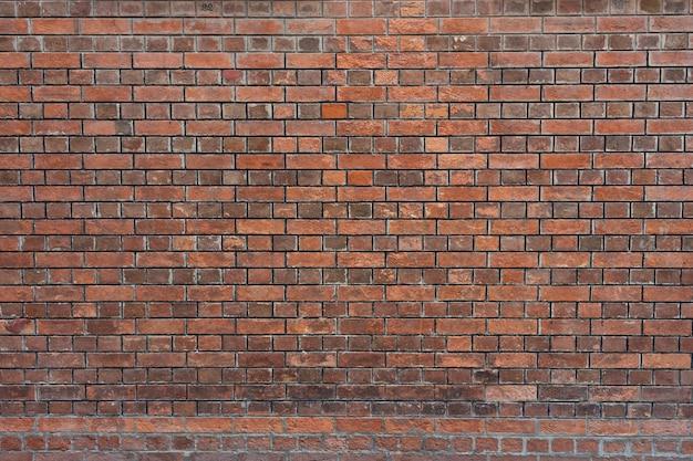 Fond de grunge de texture de mur de briques rouges. fond de style moderne, industriel Photo Premium