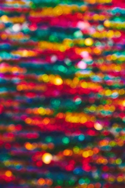 Fond de lumières colorées de bokeh Photo gratuit