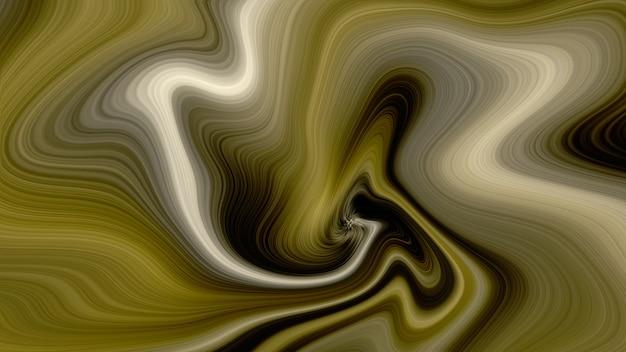 Fond de marbre liquide de luxe doré Photo Premium