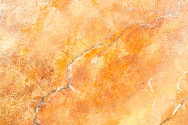 Fond de marbre orange Photo Premium