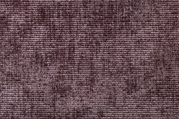 Fond marron en matière textile douce. Photo Premium
