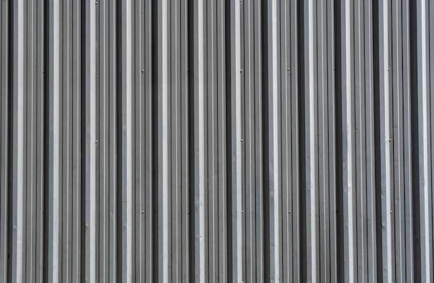 Fond De Matériau De Fer à Rayures Verticales Photo gratuit