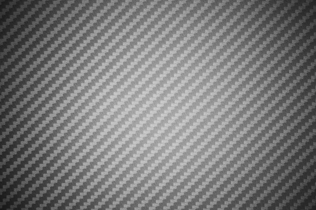Fond de matière première composite en fibre de carbone grise Photo Premium