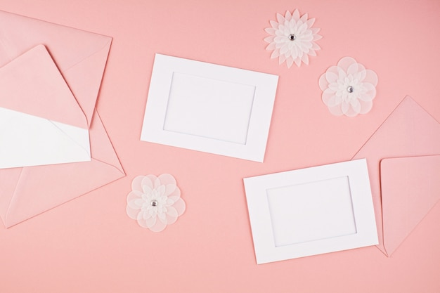 Fond minimal décoratif pastel Photo Premium