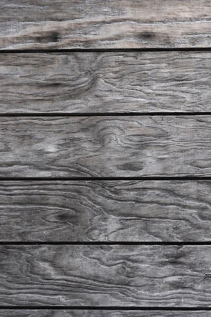 Fond de mur en bois gris Photo gratuit