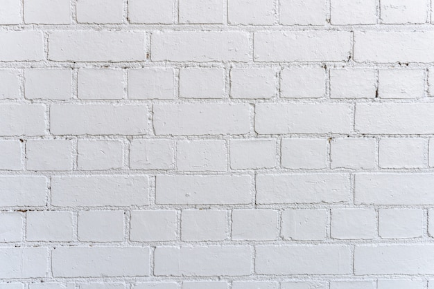 Charmant Fond De Mur En Brique Blanche Photo Gratuit